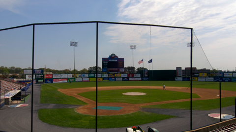 The Flying Squirrels will play at the Diamond in 2010.
