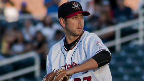 Will Savage is 5-0 with a 3.34 ERA for the Isotopes this year.
