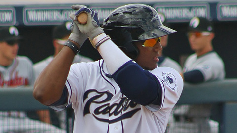 Rymer Liriano owns a .911 OPS through 14 AFL games.