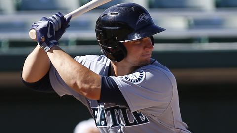 Mike Zunino participated in the AFL Rising Stars Game on Nov. 3.