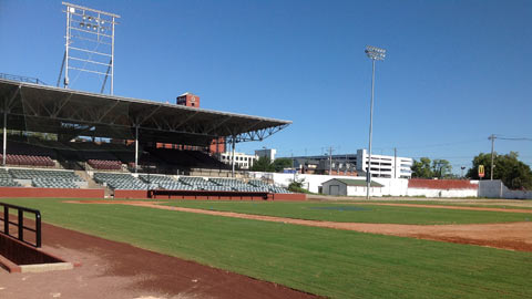 "Engel Stadium's featured role in ""42"" got some renovations earlier than might have been expected."