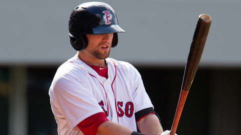Bryce Brentz had an .833 OPS in 122 games with Double-A Portland last year.
