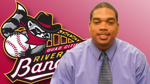 Harold Craw joins the Quad Cities River Bandits after 10 years with the Charleston RiverDogs.